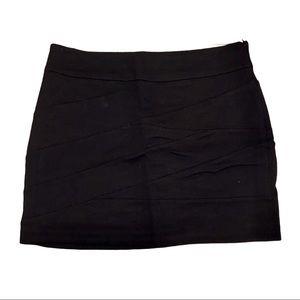 Express bandage mini skirt black 00 staple classic